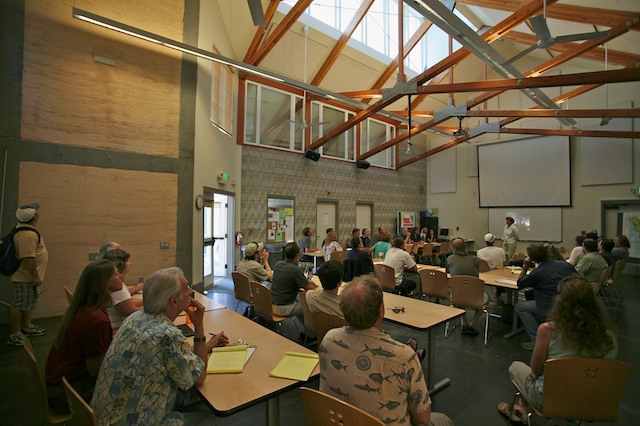 Interior, SSU Environmental Technology Center